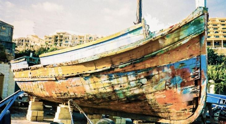 Latini left to rot at Mgarr Harbour