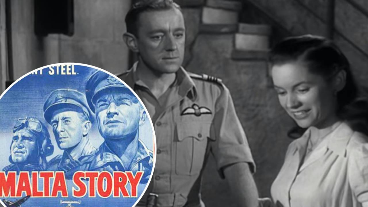 War Movie : Malta Story (1953)