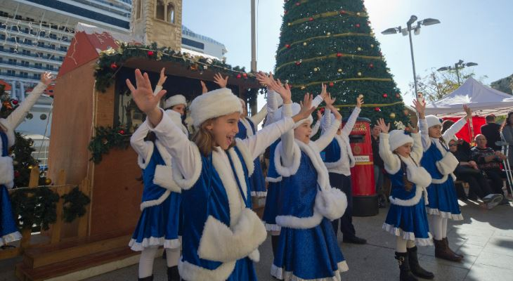 The Valletta Waterfront is serving up a feast of Christmas spirit this month!