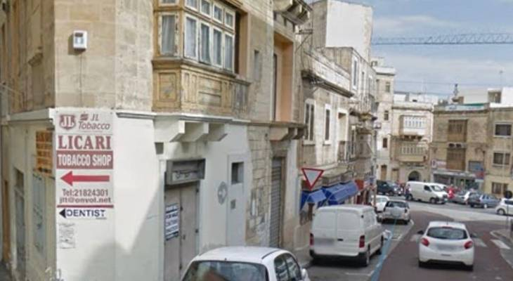 located on the hill going down to Cospicua marina