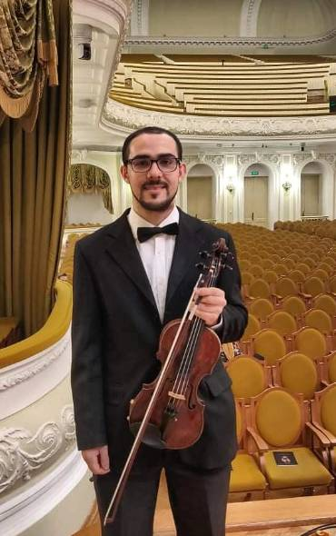 Young MPO violinist reveals the importance of dreams in musical career