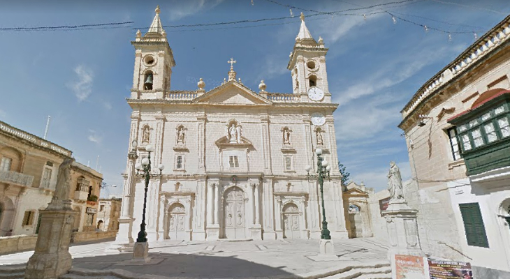 Promoted! The San Gorg church in Qormi just got bumped up to Collegiate  Church