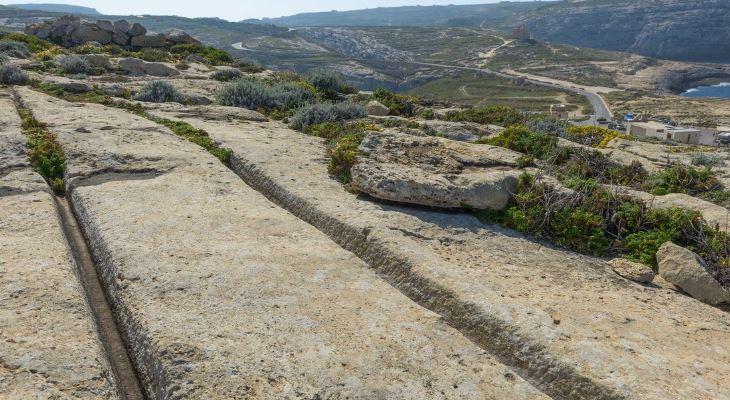 cart-ruts Joseph Caruana Dwejra.weebly.com copyright