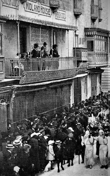 A 20th century photo of Good Friday processions shows incredible times gone by