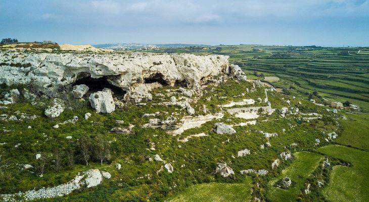 Neolithic caves Joseph Caruana Dwejra.weebly.com copyright