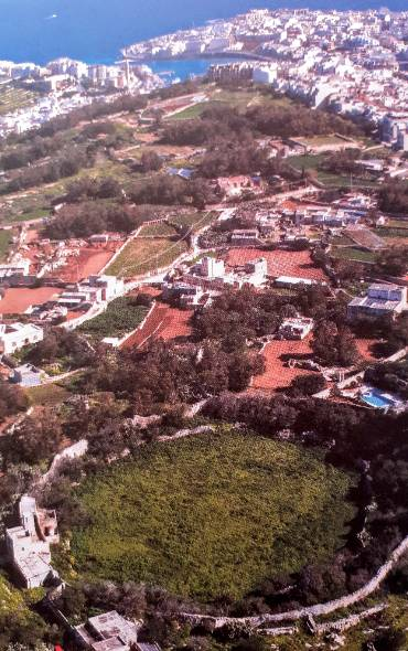 Bidni Circle Aerial View